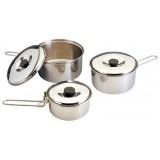 Набор посуды для кемпинга CS-6-028 нерж. сталь