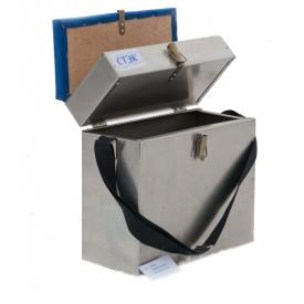 Ящик СТЭК алюминиевый 2 секции 28 л