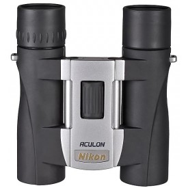Бинокль NIKON Aculon A30 8X25 серебристый