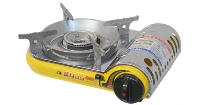 Газовая плита Fuga TPB-102 механизм подогрева баллона