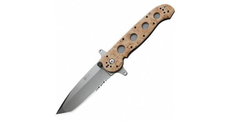 Нож складной CRKT Deset Camo, M16-14ZSF (Насечки)