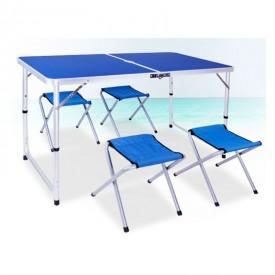Набор мебели туристический ПИКНИК складной стол и 4 стула