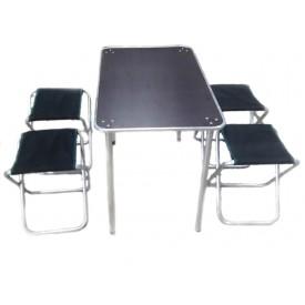 Стол МЕДВЕДЬ + 4 стула