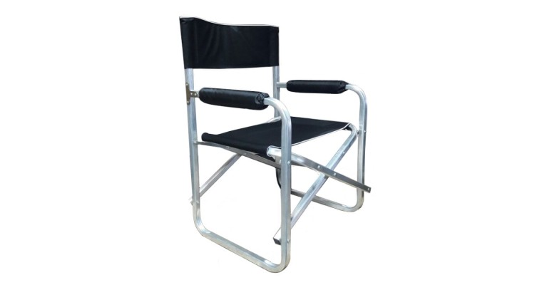 Кресло МЕДВЕДЬ D25 алюминиевое, складное