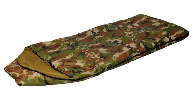 Спальный мешок-одеяло с капюшоном СТАЛКЕР Богатырь