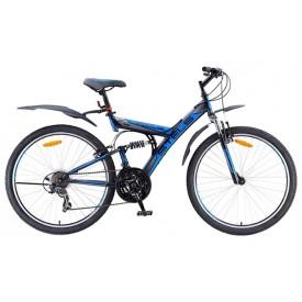 Горный велосипед двухподвес STELS Focus 26 21-sp