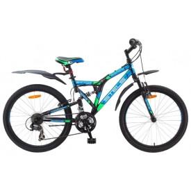 Велосипед подростковый двухподвес STELS Mustang V 24