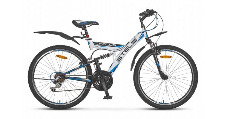 Горный велосипед двухподвес STELS Focus 26 18-sp