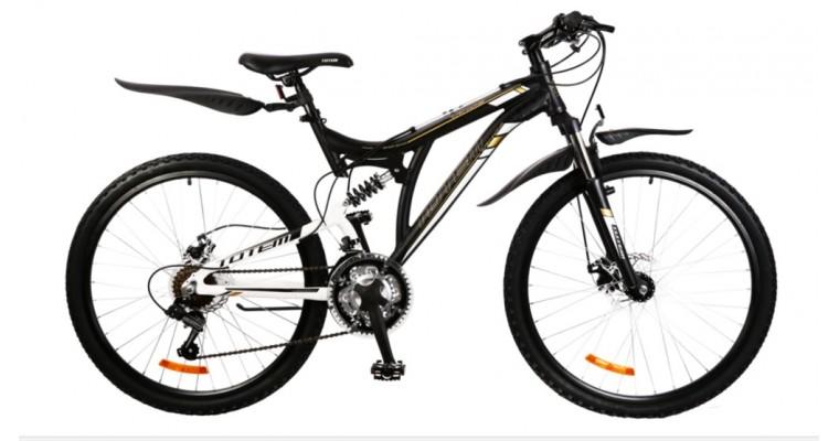 Велосипед TOTEM двухподвесной 26D-5009AL