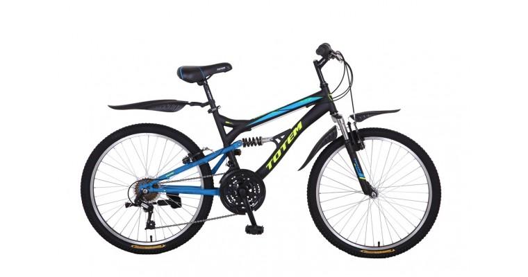 Велосипед TOTEM двухподвесной 26V-105