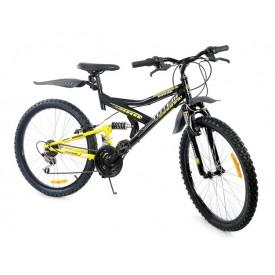 Велосипед TOTEM двухподвесной 26V-102