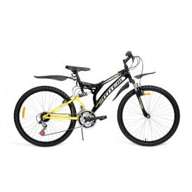 Велосипед TOTEM двухподвесной 26V-3003