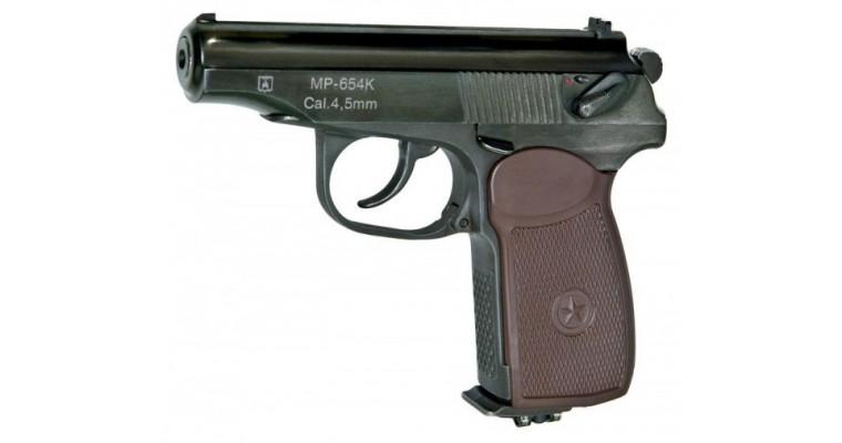 Пистолет пневматический ИЖМЕХ МР-654К-20 (обн. ручка)