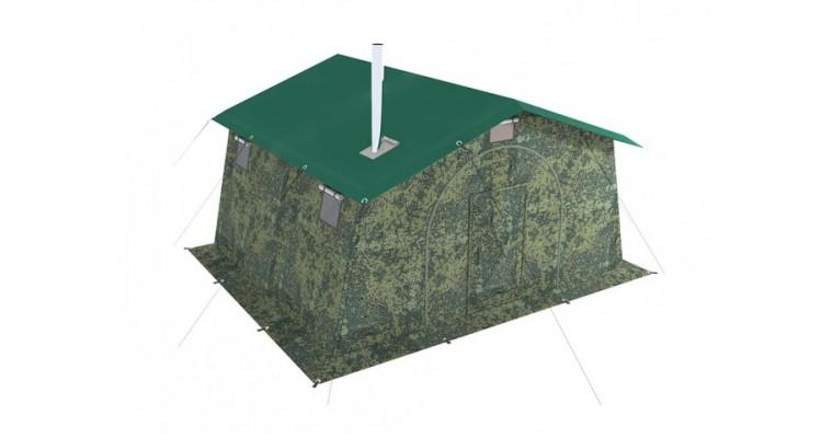 Палатка армейская БЕРЕГ 5М1 однослойная