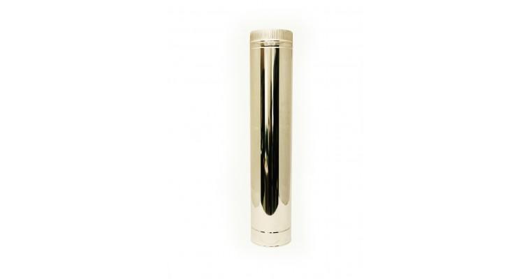 Дымоход D80 УМК 0,5 L500 нержавеющий