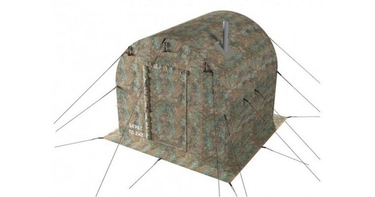 Тамбур баня 2х2 БЕРЕГ для палаток УП
