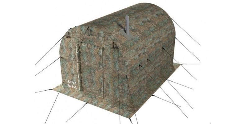 Тамбур баня 3х2 БЕРЕГ для палаток УП
