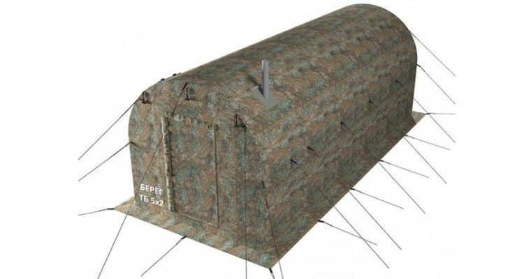 Тамбур баня 5х2 БЕРЕГ для палаток УП