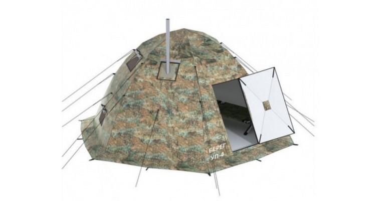 Палатка БЕРЕГ УП 4 универсальная