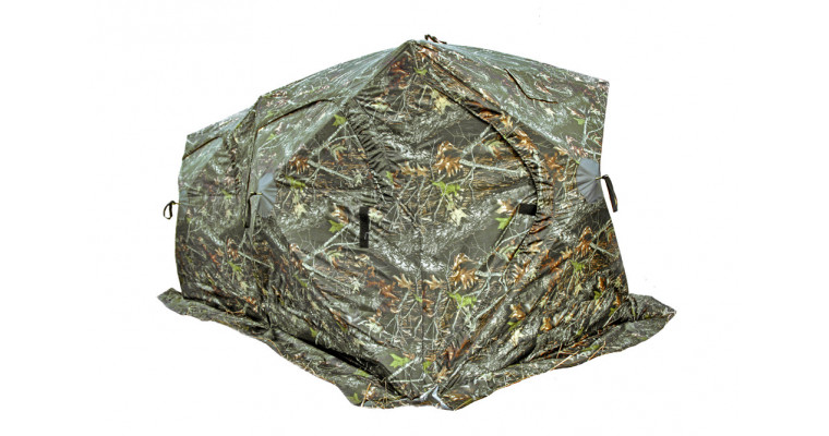 Палатка МЕДВЕДЬ Куб 3 Дубль трехслойная, пол на молнии
