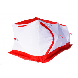 Палатка МЕДВЕДЬ Куб 4 Дубль трехслойная