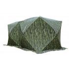 Палатка СТЭК Куб 3 Дубль камуфляж