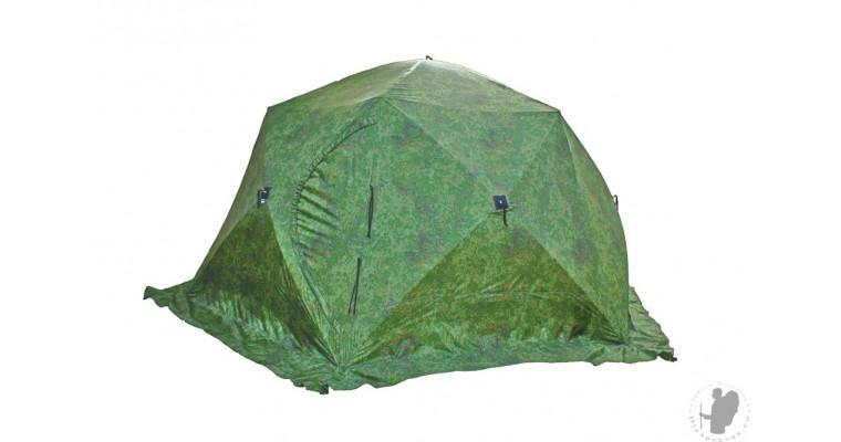 Палатка СТЭК Чум трехслойная, камуфляж