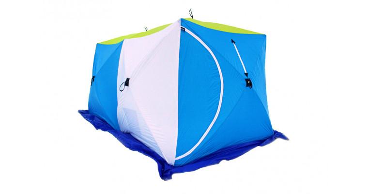 Палатка СТЭК Куб 2 Дубль трехслойная