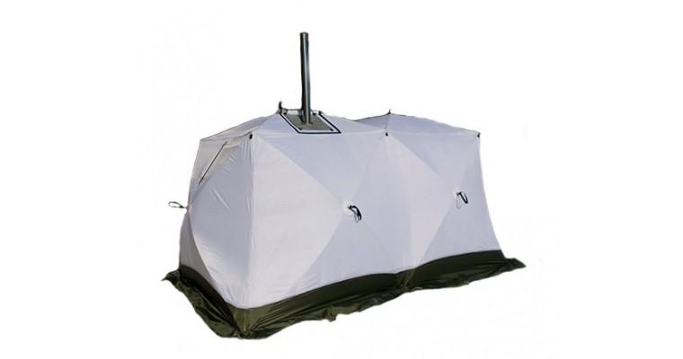 Палатка УРАЛЗОНТ Куб 2,20 Дуплекс