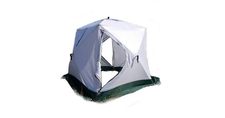 Палатка УРАЛЗОНТ Куб 2 трехслойная