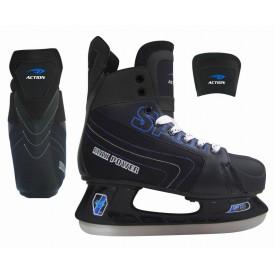 Коньки хоккейные ACTION CX Leader 216