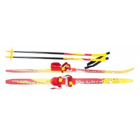 Лыжи детские KARJALA Snowstar75mm 100, 110, 120, 130, 140 см