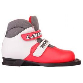 Лыжные ботинки детские TREK Laser White Red 75mm