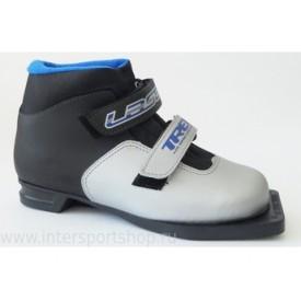 Лыжные ботинки детские TREK Laser Black White 75mm