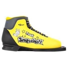 Лыжные ботинки детские TREK Snowball Yellow 75 мм